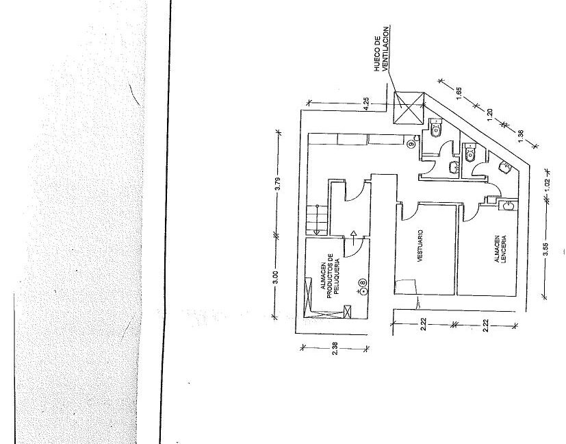 plano alcala 33 sotano